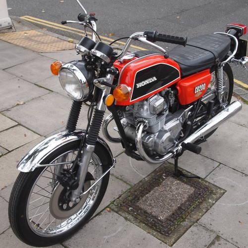 1975 CB200 Genuine UK Bike, In Outstanding Condition. SOLD (picture 3 of 6)
