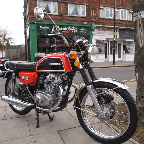 1975 CB200 Genuine UK Bike, In Outstanding Condition. SOLD (picture 5 of 6)