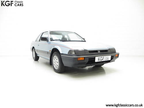 1984 A Honda Prelude Deluxe, Father & Son Owned with 42,224 Miles SOLD (picture 1 of 6)