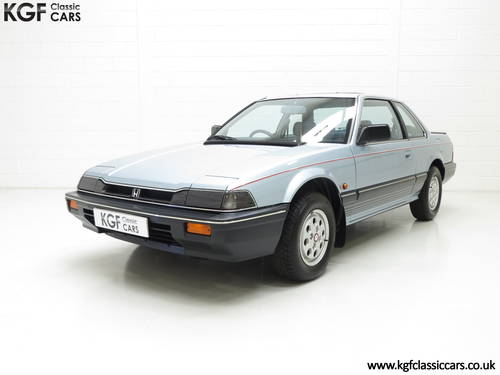1984 A Honda Prelude Deluxe, Father & Son Owned with 42,224 Miles SOLD (picture 2 of 6)