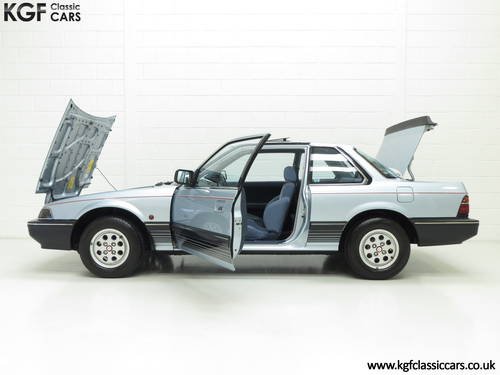 1984 A Honda Prelude Deluxe, Father & Son Owned with 42,224 Miles SOLD (picture 3 of 6)