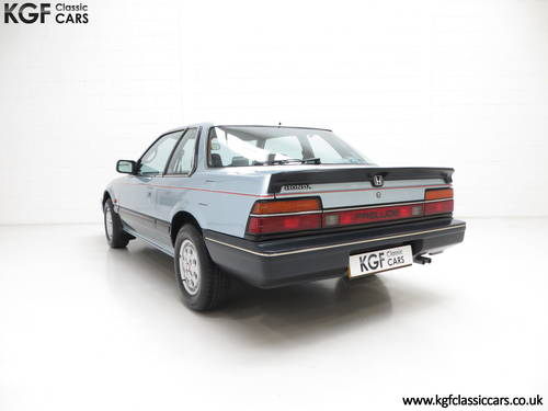 1984 A Honda Prelude Deluxe, Father & Son Owned with 42,224 Miles SOLD (picture 4 of 6)