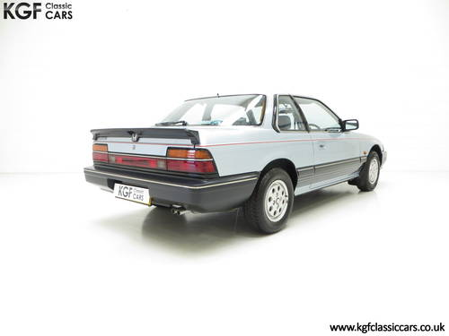 1984 A Honda Prelude Deluxe, Father & Son Owned with 42,224 Miles SOLD (picture 5 of 6)