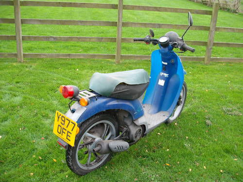 Honda Sky SGX50 Vetro 2001 Y 1 Owner 570 Miles Scooter Moped SOLD (picture 4 of 6)