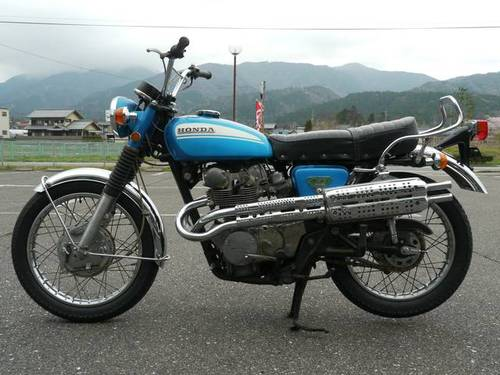 HONDA CL450 (1974) from Japan For Sale (picture 1 of 6)