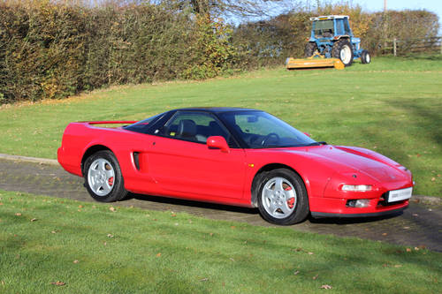 HONDA NSX COUPE MANUAL 'LEFT HAND DRIVE' 1992 For Sale (picture 1 of 6)