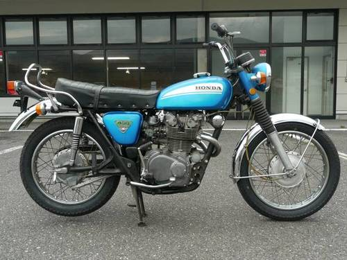HONDA CL450 (1974) 450cc from JAPAN For Sale (picture 2 of 6)