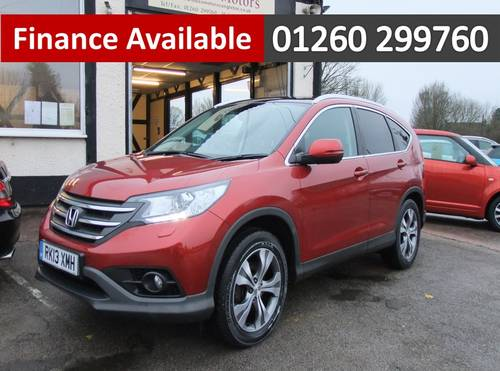 2013 HONDA CR-V 2.2 I-DTEC EX 5DR, 5 Door Estate SOLD (picture 1 of 6)