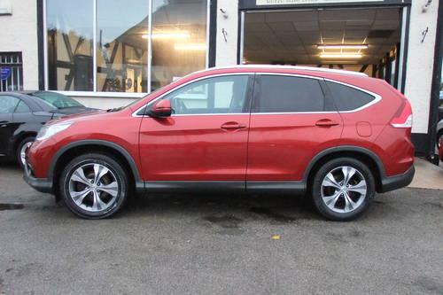 2013 HONDA CR-V 2.2 I-DTEC EX 5DR, 5 Door Estate SOLD (picture 2 of 6)