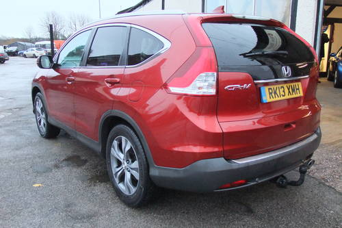 2013 HONDA CR-V 2.2 I-DTEC EX 5DR, 5 Door Estate SOLD (picture 3 of 6)