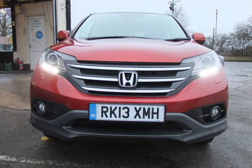 2013 HONDA CR-V 2.2 I-DTEC EX 5DR, 5 Door Estate SOLD (picture 4 of 6)