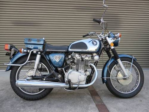 HONDA CB450 K1 (1972) 450cc from JAPAN For Sale (picture 1 of 6)