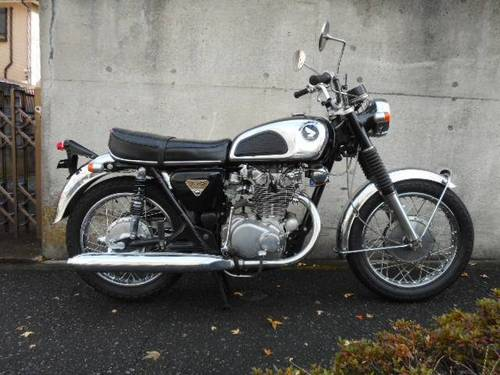 HONDA CB450 (1969) 450cc from JAPAN For Sale (picture 1 of 6)