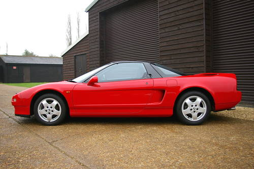 1993 Honda NSX 3.0 V6 NA1 5 Speed Manual Coupe (14913 miles) SOLD (picture 1 of 6)