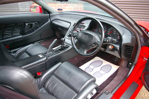 1993 Honda NSX 3.0 V6 NA1 5 Speed Manual Coupe (14913 miles) SOLD (picture 5 of 6)