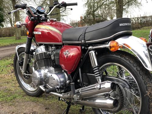 Honda CB750 Four K1 1971 SOLD (picture 4 of 6)