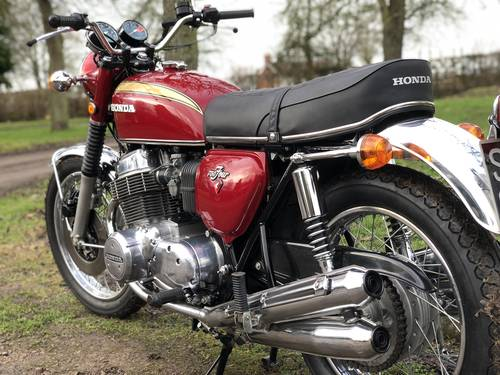Honda CB750 Four K1 1971 SOLD (picture 6 of 6)