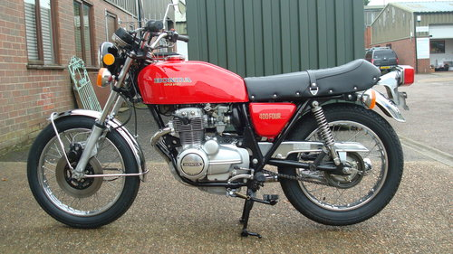 Honda CB400F SUPER SPORT 400 FOUR 1975-N **12,466 MILES** SOLD (picture 4 of 6)