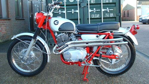 Honda CL77 SCRAMBLER 305 1966-D **6711 MILES** SOLD (picture 6 of 6)