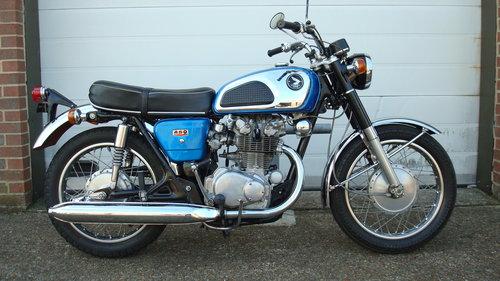 Honda CB450 K1 SUPER SPORT 1968-F SOLD (picture 1 of 6)