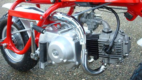 1969 Honda Z50 AK0 MINI TRAIL **RESTORED** SOLD (picture 4 of 6)