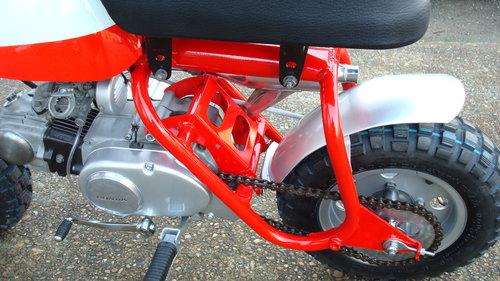 1969 Honda Z50 AK0 MINI TRAIL **RESTORED** SOLD (picture 5 of 6)