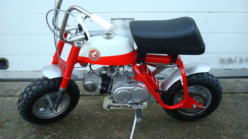 1969 Honda Z50 AK0 MINI TRAIL **RESTORED** SOLD (picture 6 of 6)