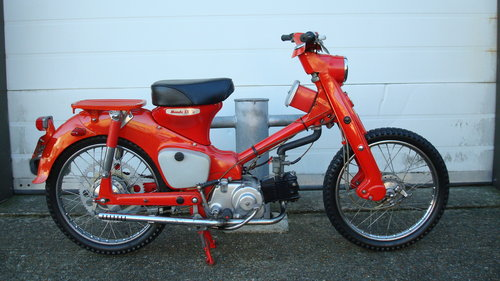 Honda C105T TRAIL 55 (1962 MODEL) **2226 MILES** For Sale (picture 1 of 6)