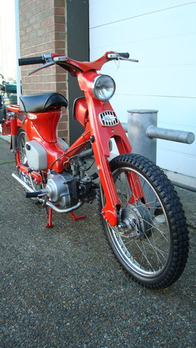 Honda C105T TRAIL 55 (1962 MODEL) **2226 MILES** For Sale (picture 2 of 6)