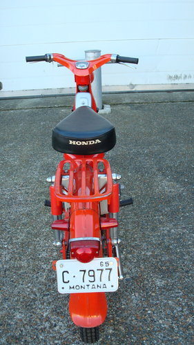 Honda C105T TRAIL 55 (1962 MODEL) **2226 MILES** For Sale (picture 5 of 6)