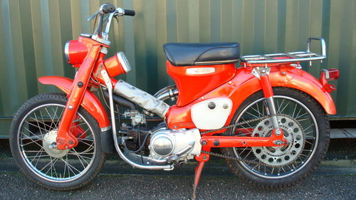 Honda CT200 TRAIL 90 1966-D **1265 MILES** For Sale (picture 6 of 6)