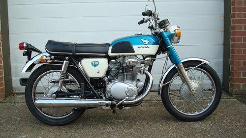 Honda CB350 K0 SUPER SPORT 1969-G **4721 MILES** For Sale (picture 1 of 6)