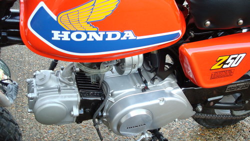 Honda Z50 A'77 MINI TRAIL 1977 SOLD (picture 4 of 6)