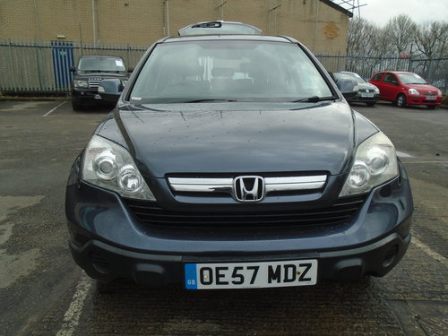 2007 CRV 57 PALATE 4X4 6 SPEED MANAUL 2.2cc TURBO DIESEL F.S.H    For Sale (picture 1 of 6)