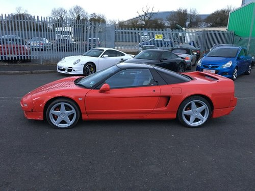 1993 Honda NSX 3.0L VTec Salvage Repairable Damaged SOLD (picture 1 of 6)
