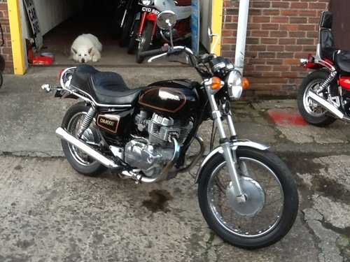 1980 Honda CM400 Custom - Sold, awaiting collection SOLD (picture 2 of 6)