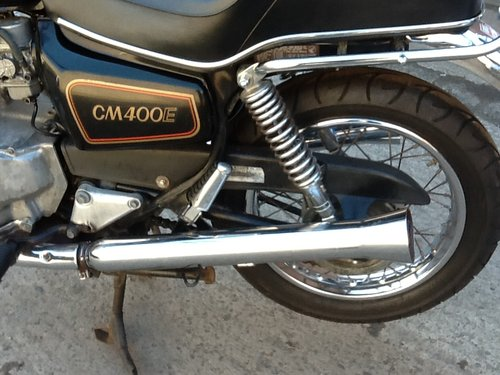 1980 Honda CM400 Custom - 4000 miles For Sale (picture 5 of 6)