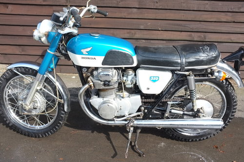 1968 Honda CB350 CB 350 KO 1st year, the 4404th CB350 ever made!! SOLD (picture 6 of 6)