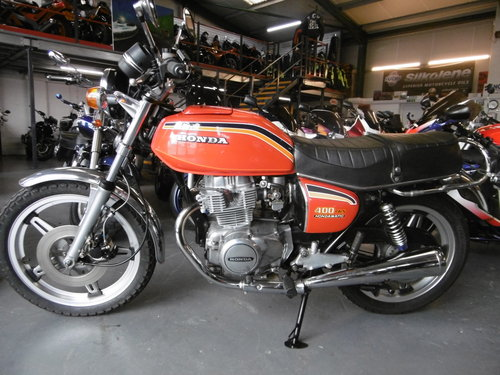 1979 Honda CB400 Twin Hondamatic ORIGINAL !!! SOLD (picture 1 of 6)
