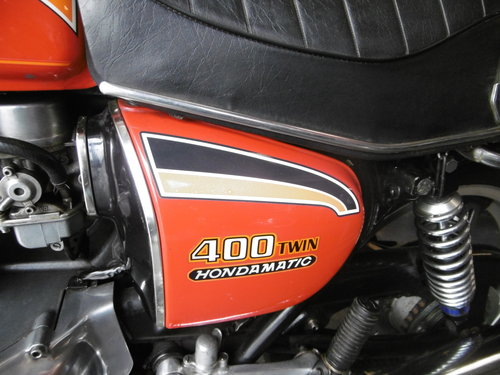 1979 Honda CB400 Twin Hondamatic ORIGINAL !!! SOLD (picture 6 of 6)