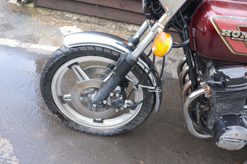 2500 Honda CB750 CB 750 F2 1977 BARN FIND Project, ride or restor SOLD (picture 3 of 6)