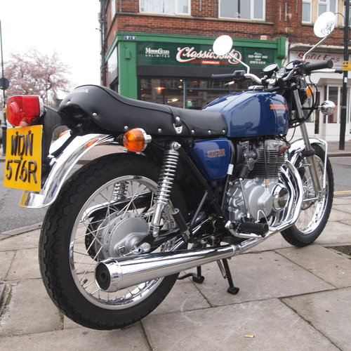 1976 CB400 Four, Genuine Low Mileage UK Bike, SOLD. SOLD (picture 1 of 6)