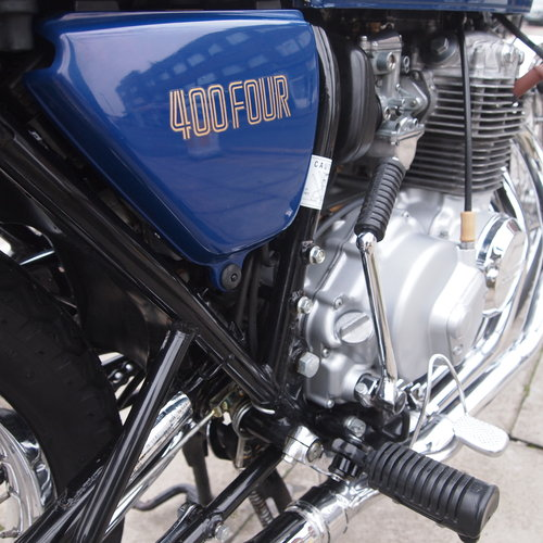 1976 CB400 Four, Genuine Low Mileage UK Bike, SOLD. SOLD (picture 2 of 6)