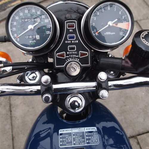 1976 CB400 Four, Genuine Low Mileage UK Bike, SOLD. SOLD (picture 3 of 6)