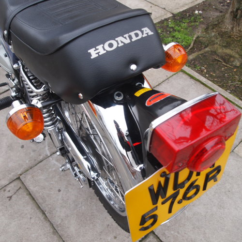 1976 CB400 Four, Genuine Low Mileage UK Bike, SOLD. SOLD (picture 4 of 6)