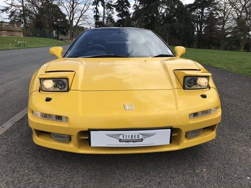 1995 HONDA NSX UK CAR **RHD** Manual Original Three Owners   SOLD (picture 1 of 6)