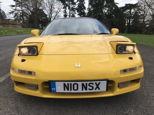 1995 HONDA NSX UK CAR **RHD** Manual Original Three Owners   SOLD (picture 5 of 6)