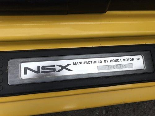 1995 HONDA NSX UK CAR **RHD** Manual Original Three Owners   SOLD (picture 6 of 6)