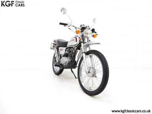 1975 A Fabulous UK Honda SL125 Street Scrambler SOLD (picture 1 of 6)