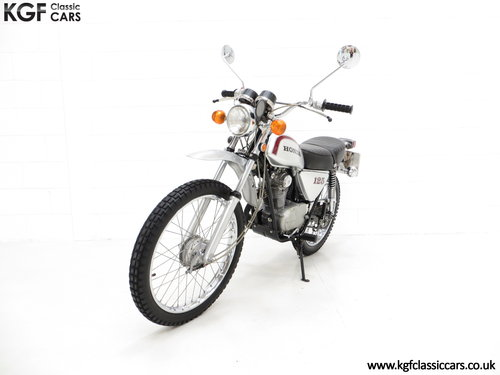 1975 A Fabulous UK Honda SL125 Street Scrambler SOLD (picture 2 of 6)
